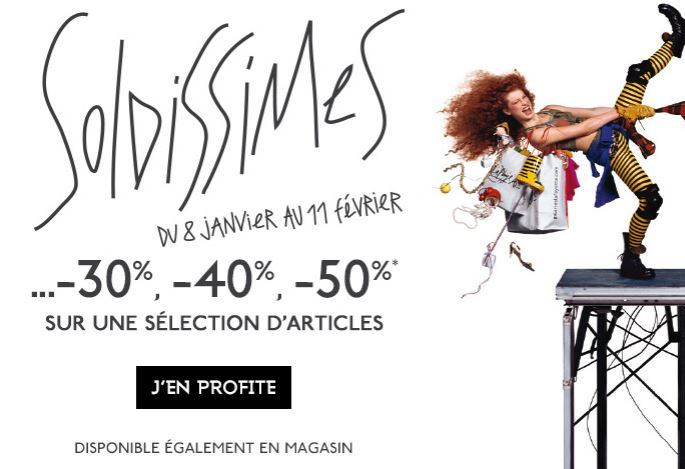 Soldes hiver 2014 Galeries Lafayette - Soldissimes Galeries Lafayette - original
