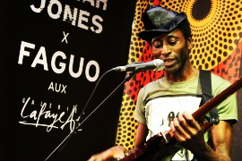 Keziah Jones Showcase Galeries Lafayette Faguo - Une
