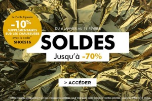 Soldes hiver Brandalley 2016 - Une